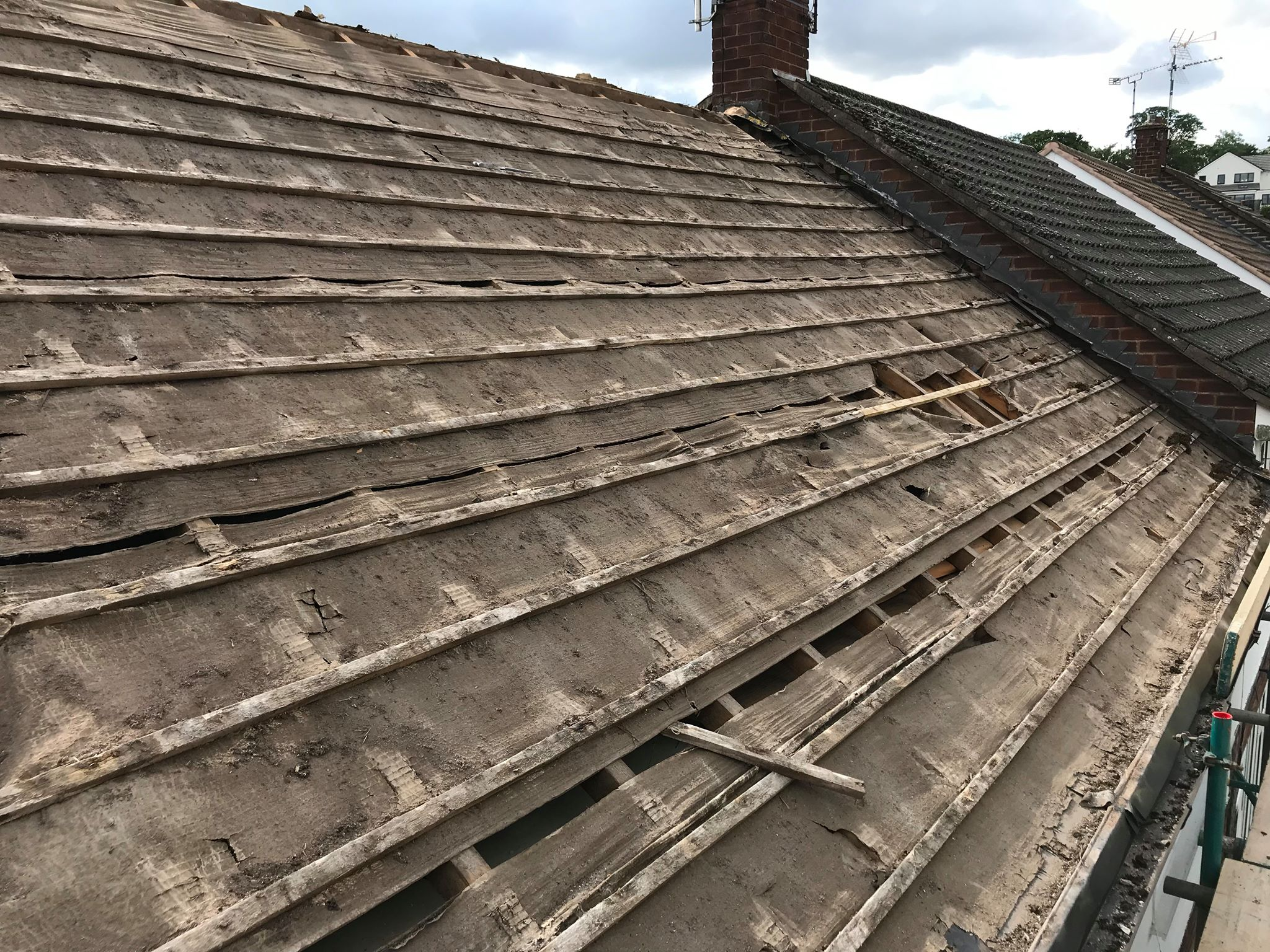 roofing replacement in coventry