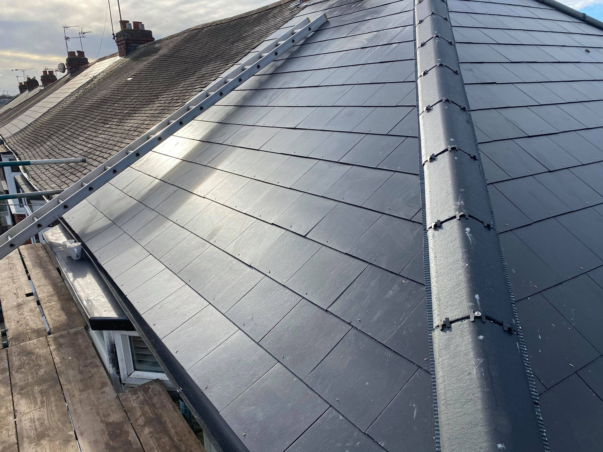 Replacement roof tiles in Coventry